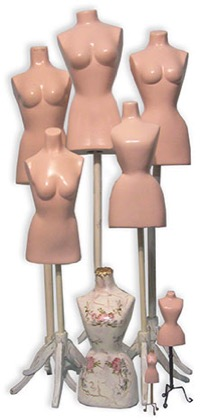 Doll mannequins body dress makers dummies in a range of sizes for displaying your finished gowns or aid in construction doll dress making-CATNCO