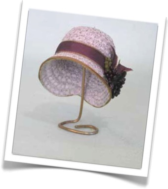 Doll Millinery Blocks and Hat Trims Supplies